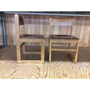 Wood frame student desk chair (7/10/18)