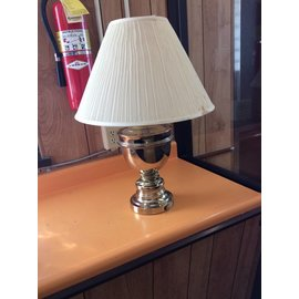 Brass decorative table lamp