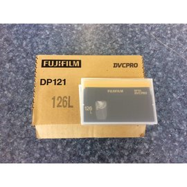 FUJIFILM DP121 DVCPRO 126L 10pk of Tapes