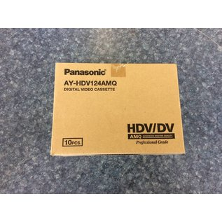 Panasonic AY-HDV124AMQ 10 ok of tapes