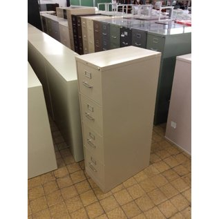 Tan 4 Drawer vertical file cabinet  (11/14/18)