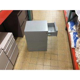 18x15x25 Gray 3 drawer file/storage unit