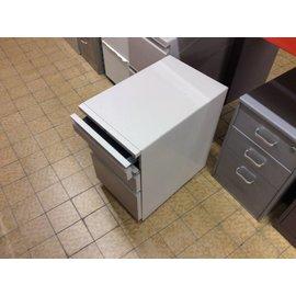 23x15x25 Tan 3 drawer file/storage unit