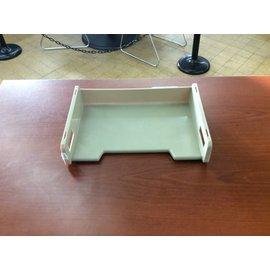 Beige paper tray