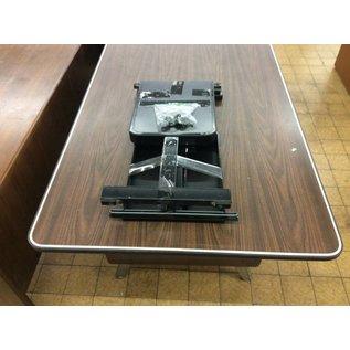 Metal frame folding table legs