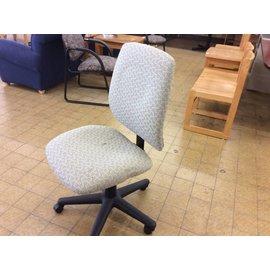 Beige pattern Desk Chair on castors