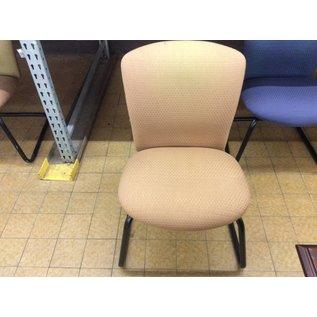 Tan side chair (fadded back)
