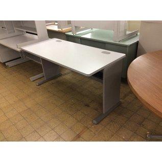 "27x59 1/4x29 1/2"" Gray computer table"