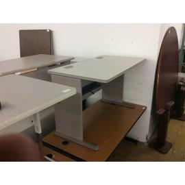 "26 7/8""x47 5/8""x29 1/2"" Grey computer table"