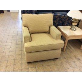 Beige pattern chair living room chair