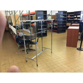 "22x60x 62"" Garment rack on castors"