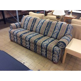 """85"""" Multi-pattern couch"""