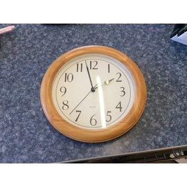 Brown wood clock