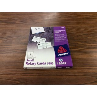Small rotary cards 5385 15 sheets 8 cards a sheet