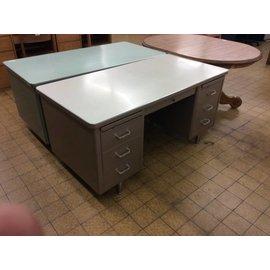 30 1/8x60x29 Bronze steelcase desk