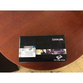 Lexmark c5220cs cyan toner cartridges
