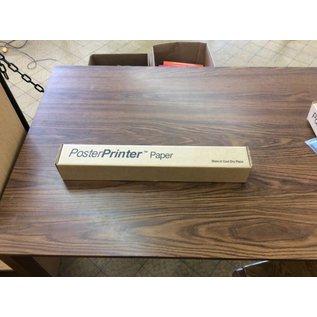 Poster printer thermal paper
