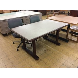 "36x60x28 1/2"" Wood dining table"