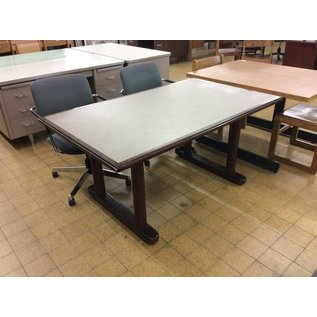 """36x60x28 1/2"""" Wood dining table"""