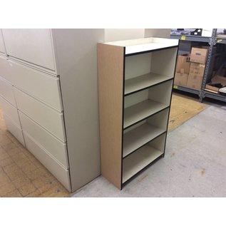 "12x31 1/2x56"" Wood. Bookcase"