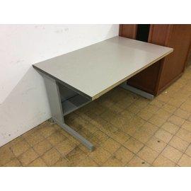 "30x48x27"" Gray computer table"