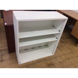 15x26x40 White Metal Bookcase