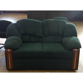 "60"" Green Love Seat"