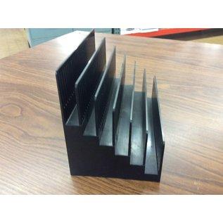 6 Slot Plastic File holder