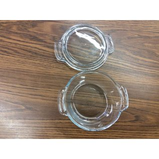 Glass Bowl w/ Lid
