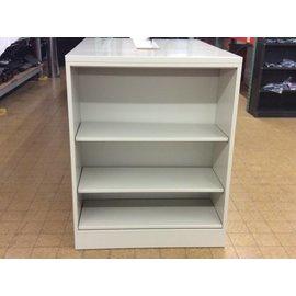 15x36x45 Beige Metal Bookcase