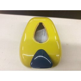 Blue and Gold Soap Dispenser