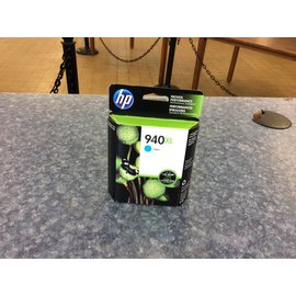 HP 940XL Cyan Ink Cartridge (5/21/18)