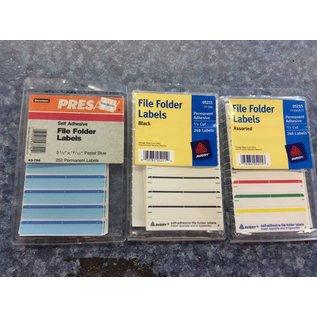 File Folder Labels