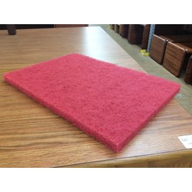 12x18x1 Red Buffer Pads (5 per box)