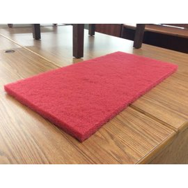 14x28x1 Red Buffer Pad (10 per box)