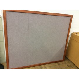 "72x60"" Wood Frame Bulletin Board"