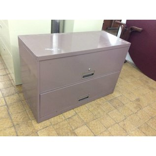 42x18x28 Violet 2 Drawer Lateral File Cabinet