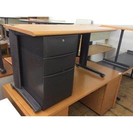 48x24x29 Woodtop L/Pedestal Desk