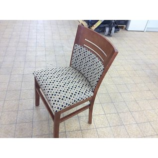 Side Chair padded seat and back wood frame