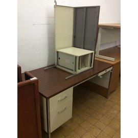 60x30x29 1/2 Woodtop Desk W/ Right extension