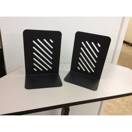 Black Metal Medium book ends 2 Pack item may vary from picture