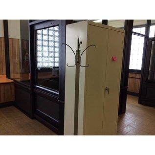 green Steelcase Hall Tree