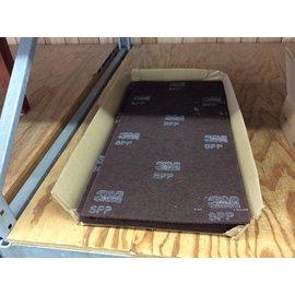 "14x28"" 3M maroon buffer pads"