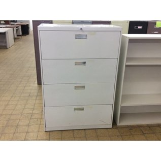 18x36x52 4 Drawer Light Violet Lateral File Cabinet