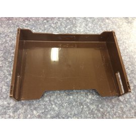 Brown paper tray