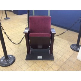 American Seating Theater chair
