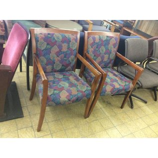 Multi Patterned Chair