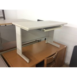 24x48x29 Light Gray Metal Frame Table