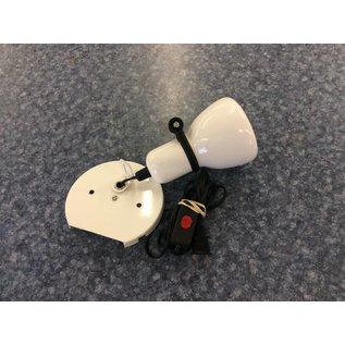 White Mountable Light w/Switch