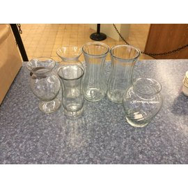 Assorted Large Vases